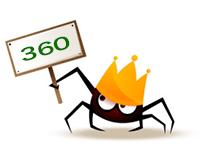 360搜索引擎蜘蛛,再见了!