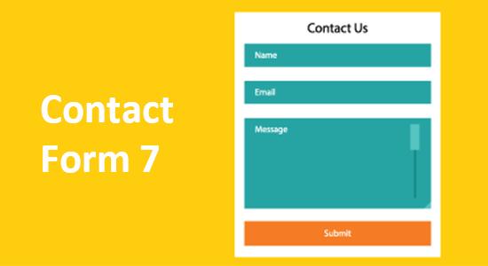 WordPress联系表单插件5. Contact Form 7