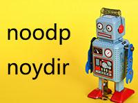 Meta Noodp和Noydir标签有什么作用?